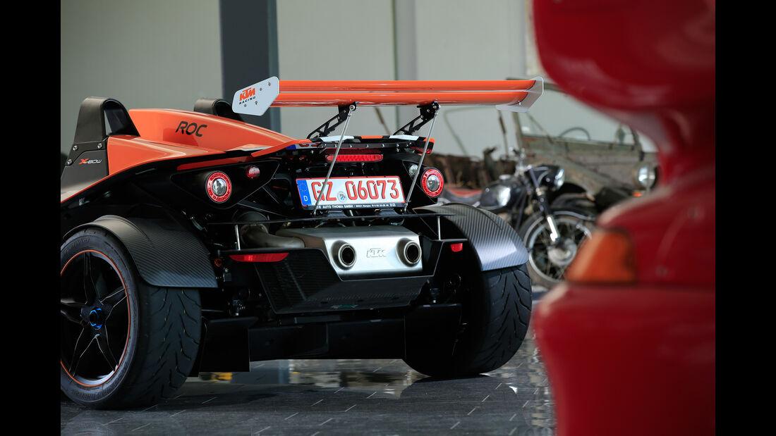 KTM X-Bow R, Heckflügel