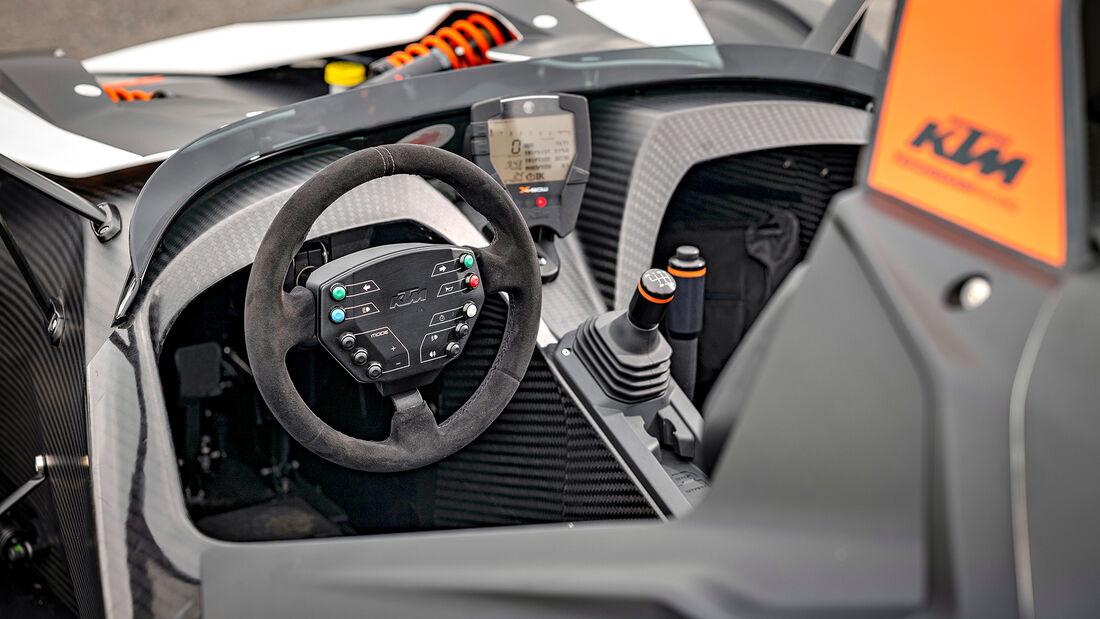 KTM X-Bow R, Interieur