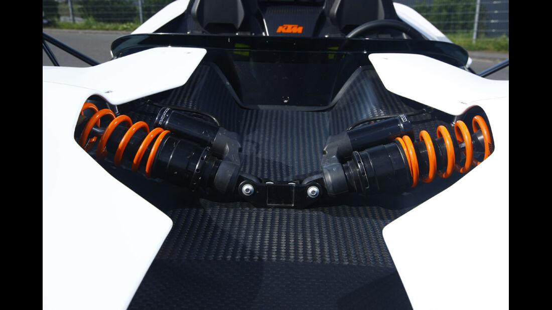 KTM X-Bow R Prototyp, Federbeine