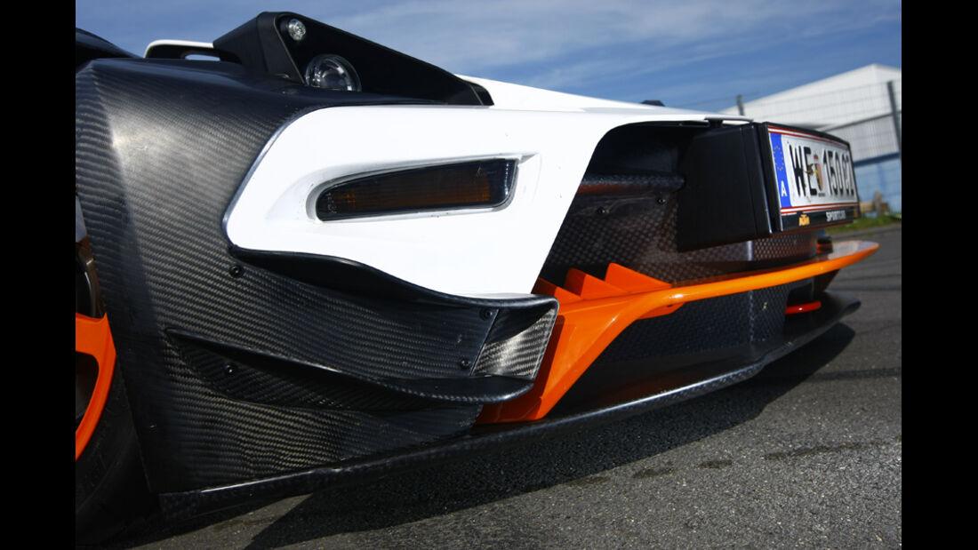 KTM X-Bow R Prototyp, Front