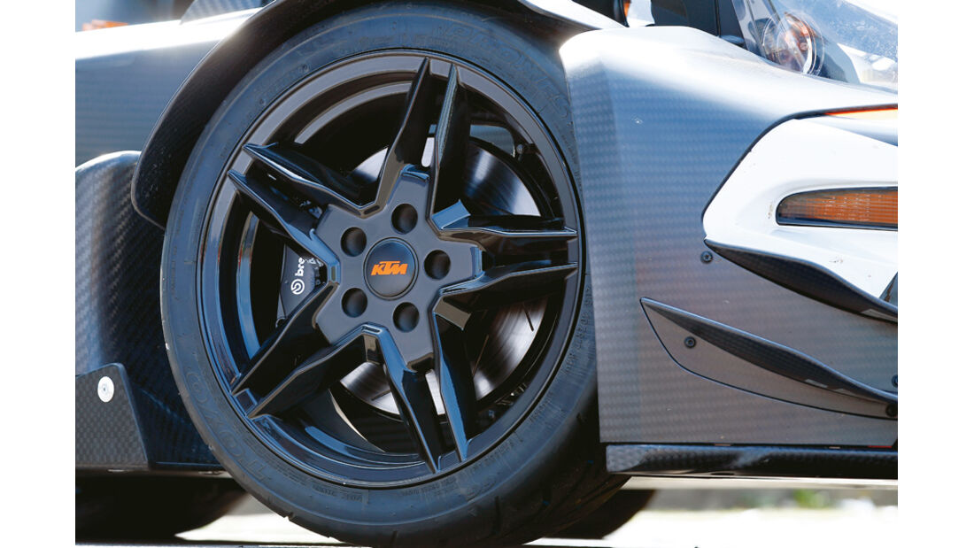 KTM X-Bow R, Rad