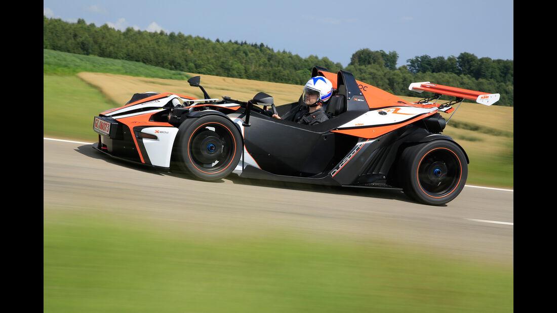 KTM X-Bow R, Seitenansicht