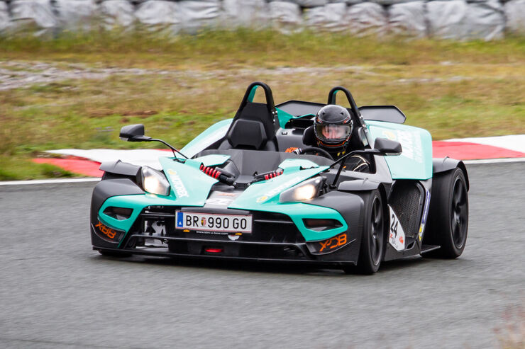 KTM X-Bow RR, Frontansicht