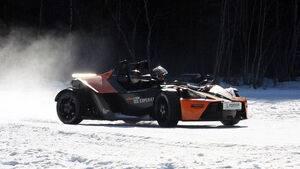KTM X-Bow Wintertraining