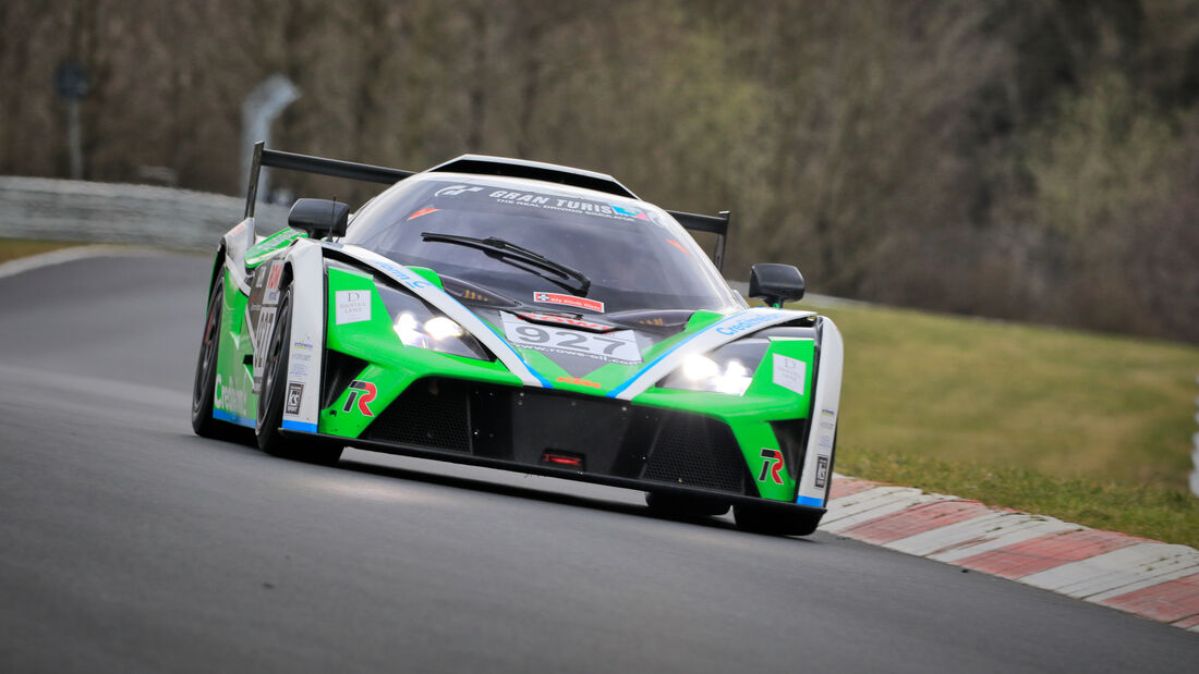 KTM x-Bow GT4 - Startnummer #927 - Teichmann Racing - CupX - NLS 2021 - Langstreckenmeisterschaft - Nürburgring - Nordschleife