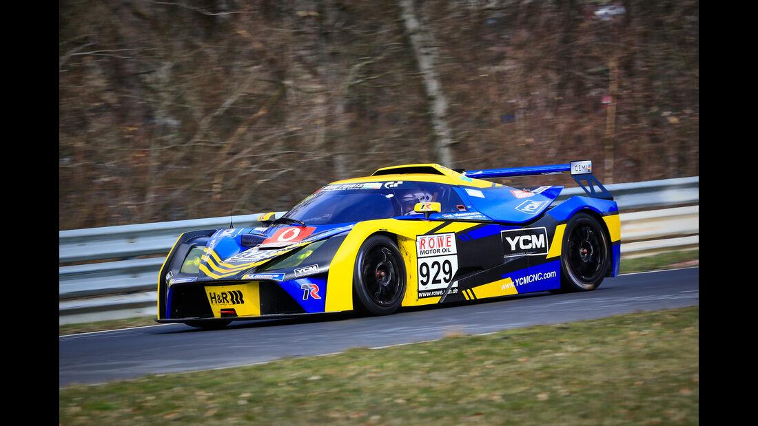 KTM x-Bow GT4 - Startnummer #929 - Teichmann Racing - Cup X - VLN 2019 - Langstreckenmeisterschaft - Nürburgring - Nordschleife