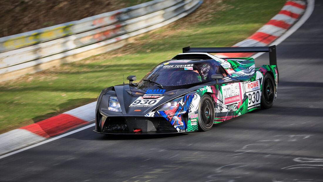 KTM x-Bow GT4 - Startnummer #930 - Teichmann Racing - CupX - NLS 2021 - Langstreckenmeisterschaft - Nürburgring - Nordschleife
