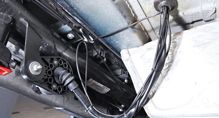 Kabel, Durchführung