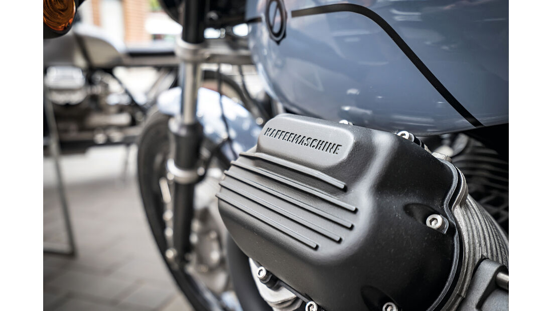 Kaffemaschine Custom Bike