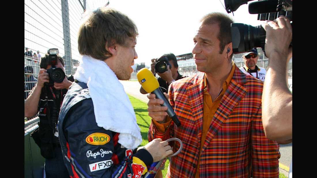 Kai Ebel und Vettel