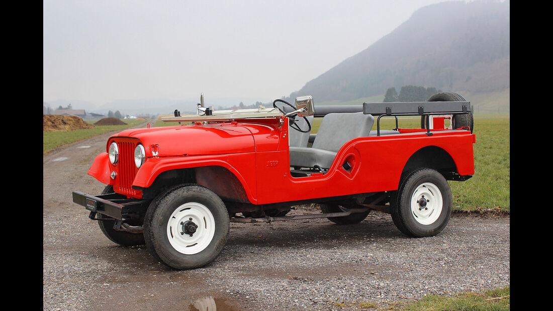 Kaiser Jeep CJ-6 1968 Oldtimer Auktion Toffen