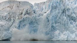 Kalbender Gletscher, Klimawandel
