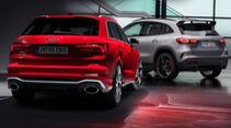 Kaltvergleich Genf 2020 Audi RS Q3 Mercedes-AMG GLA 45 S