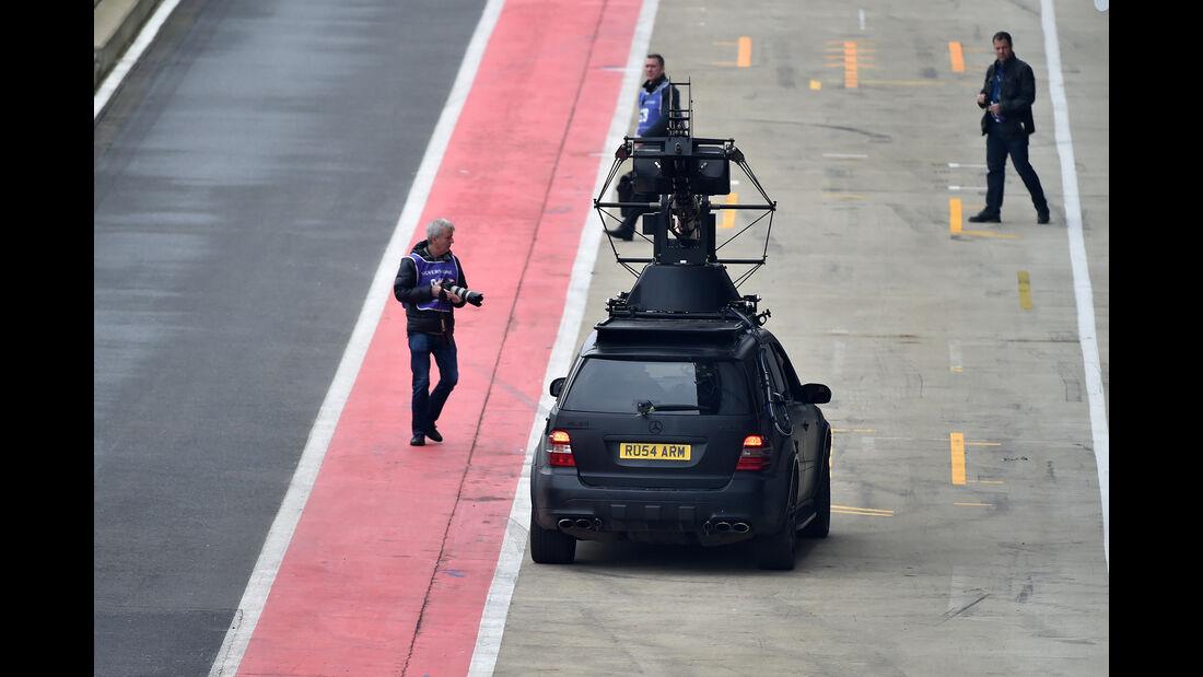 Kamera-Auto - F1 - Silverstone - 2018