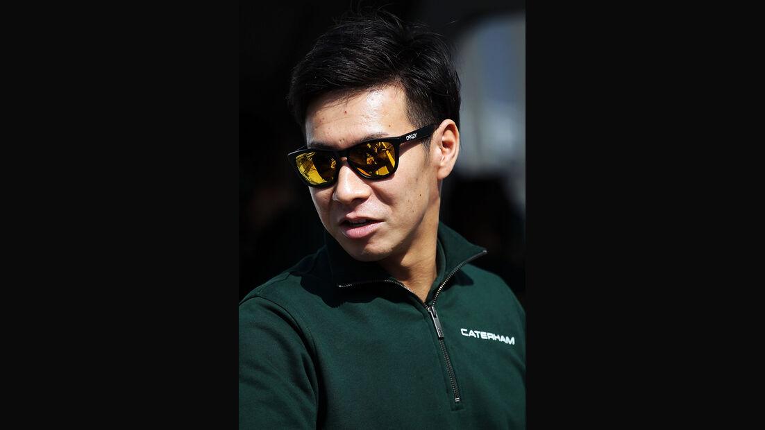 Kamui Kobayashi - Caterham - Formel 1 - Bahrain - Test - 19.02.2014