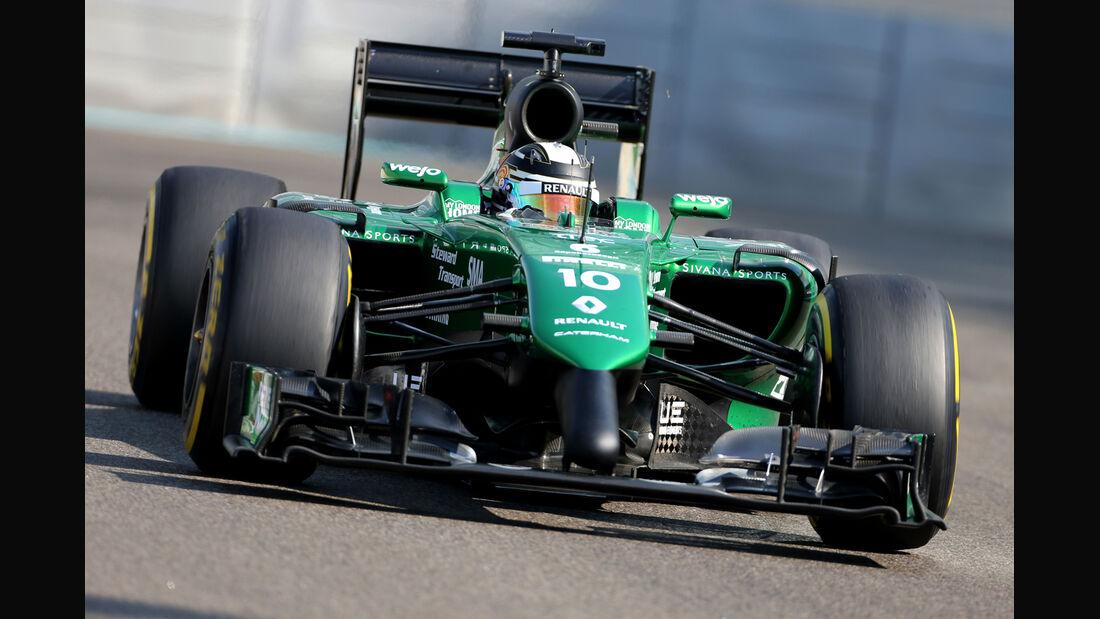 Kamui Kobayashi - Caterham - Formel 1 - GP Abu Dhabi - 21. November 2014