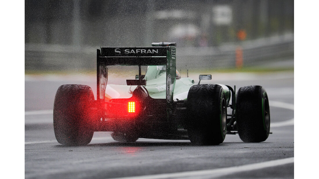Kamui Kobayashi - Caterham - Formel 1 - GP China - Shanghai - 19. April 2014