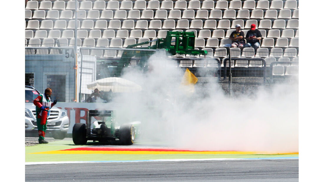 Kamui Kobayashi - Caterham - Formel 1 - GP Deutschland - Hockenheim - 18. Juli 2014