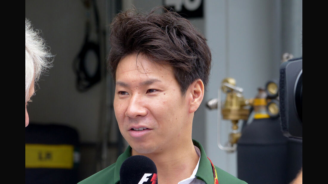Kamui Kobayashi - Caterham - Formel 1 - GP Japan - Suzuka - 2. Oktober 2014