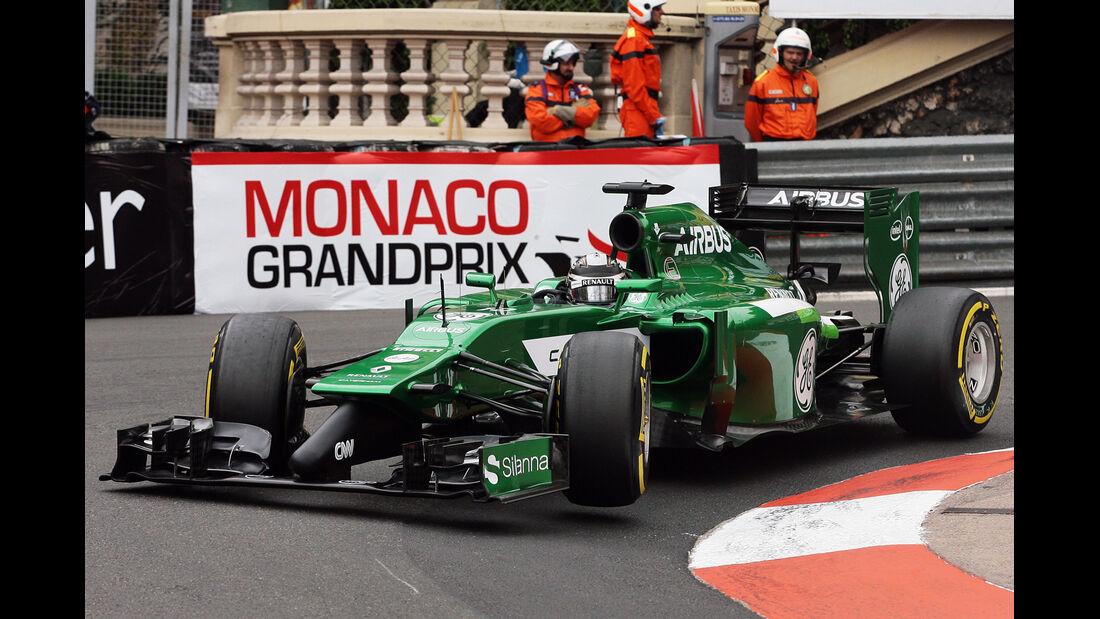 Kamui Kobayashi - Caterham - Formel 1 - GP Monaco - 22. Mai 2014