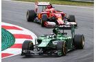 Kamui Kobayashi - Caterham - Formel 1 - GP Österreich - Spielberg - 20. Juni 2014