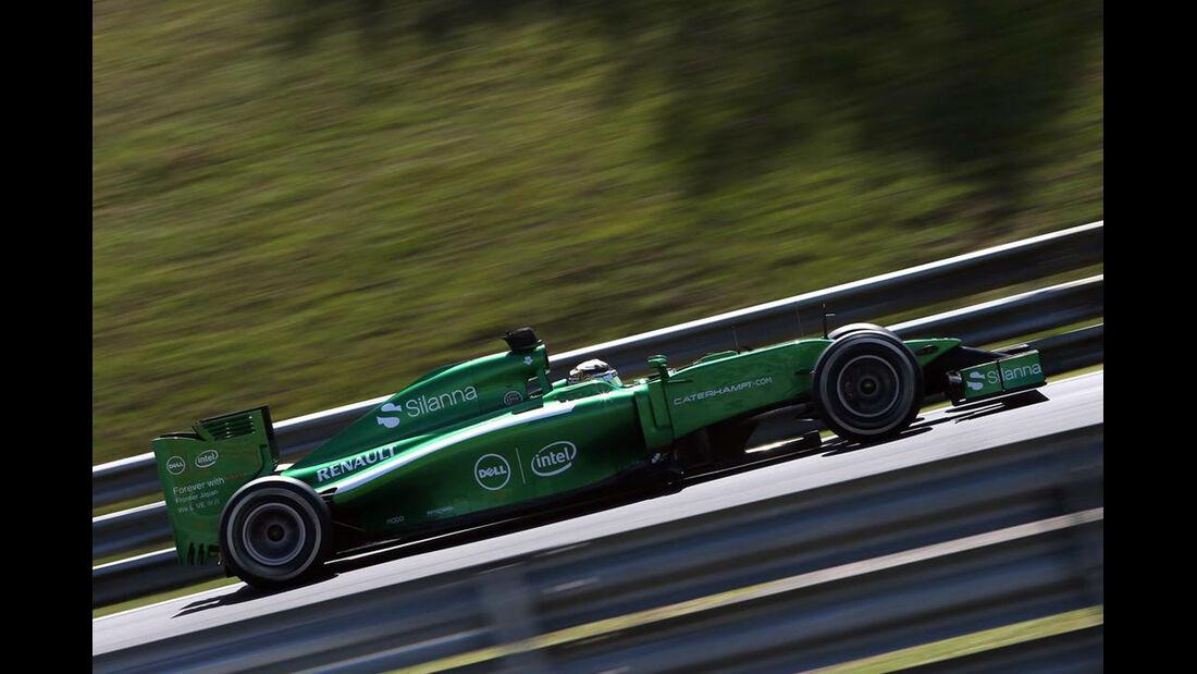 Kamui Kobayashi - Caterham - Formel 1 - GP Ungarn - 25. Juli 2014