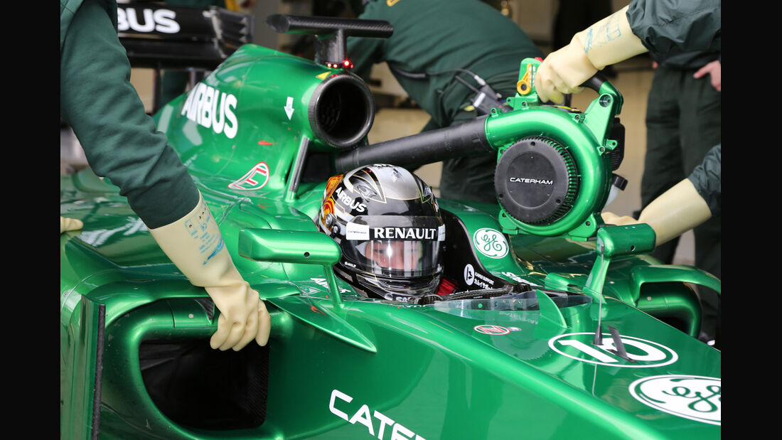 Kamui Kobayashi - Caterham - Formel 1 - Jerez - Test - 30. Januar 2014