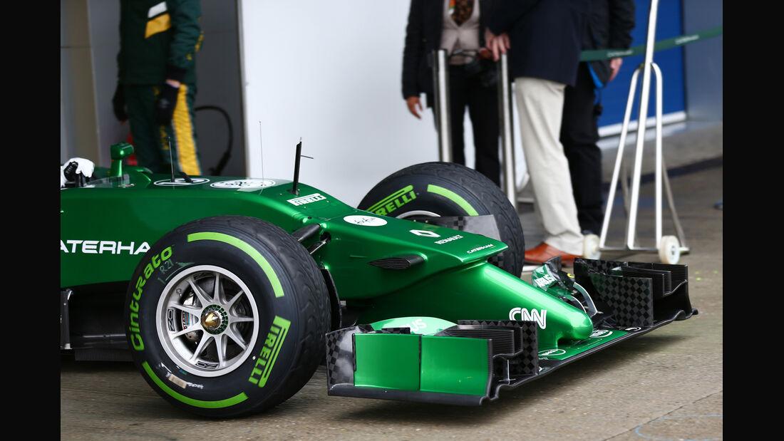 Kamui Kobayashi - Caterham - Formel 1 - Jerez - Test - 31. Januar 2014