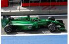 Kamui Kobayashi - Caterham - Formel 1 - Test - Bahrain . 27. Februar 2014