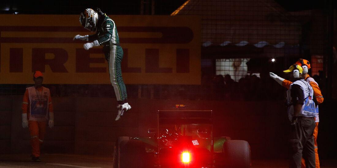 Kamui Kobayashi - Caterham - GP Singapur 2014