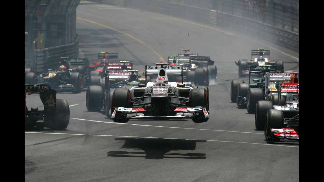 Kamui Kobayashi F1 Fun Pics 2012