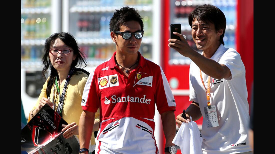 Kamui Kobayashi - Ferrari - Formel 1 - GP Japan - Suzuka - 10. Oktober 2013