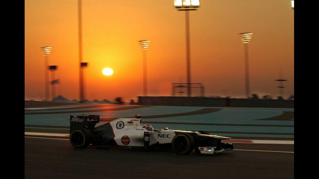 Kamui Kobayashi  - Formel 1 - GP Abu Dhabi - 04. November 2012