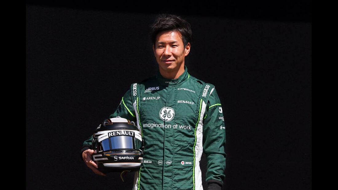 Kamui Kobayashi - Formel 1 - GP Australien - 13. März 2014