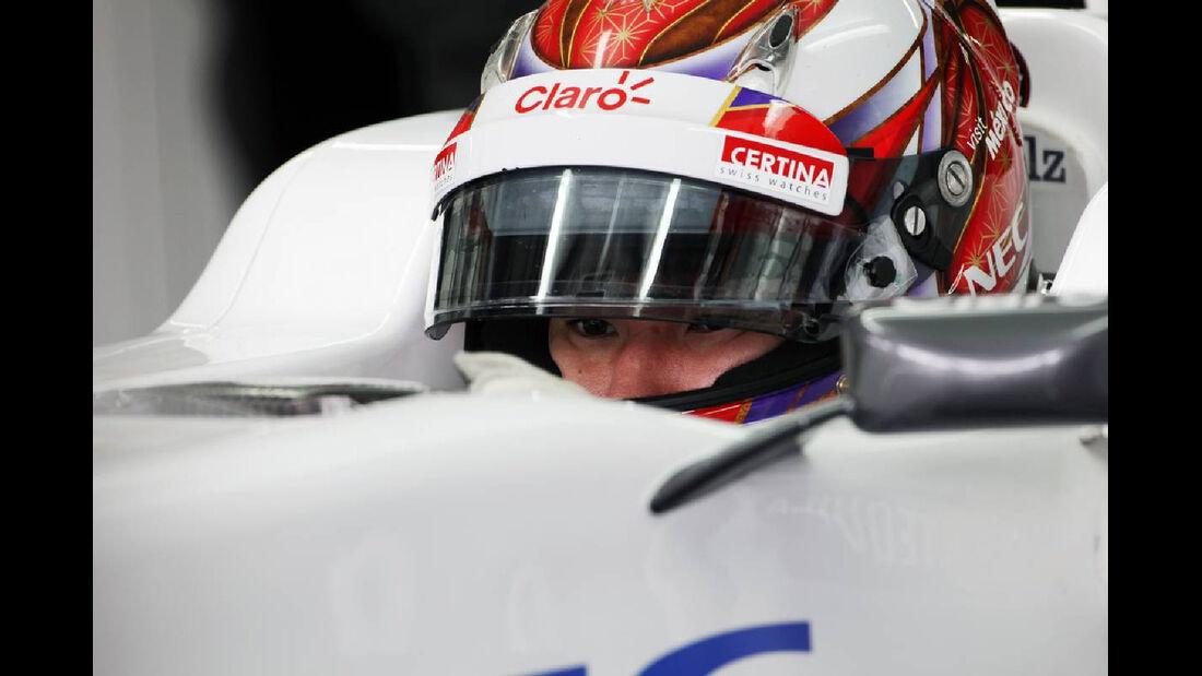 Kamui Kobayashi - Formel 1 - GP Deutschland - 20. Juli 2012