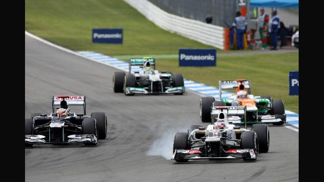 Kamui Kobayashi - Formel 1 - GP Deutschland - 22. Juli 2012