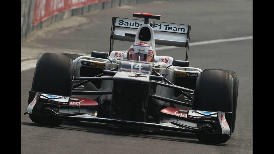 Kamui Kobayashi - Formel 1 - GP Indien - 27. Oktober 2012