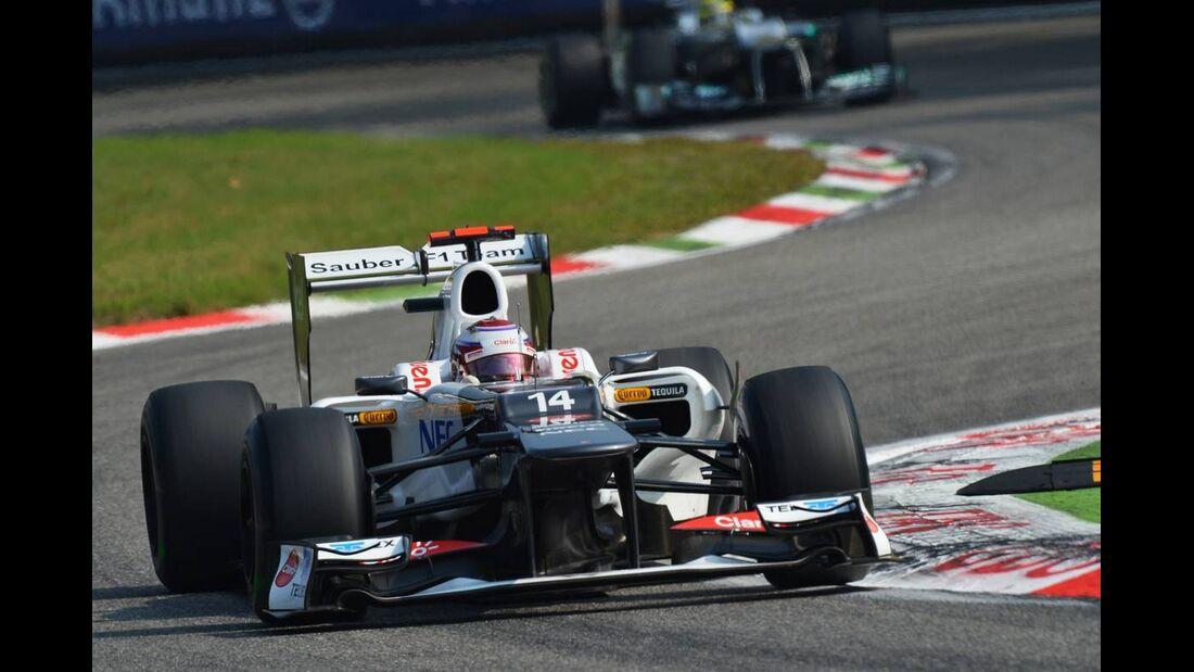 Kamui Kobayashi - Formel 1 - GP Italien - 08. September 2012
