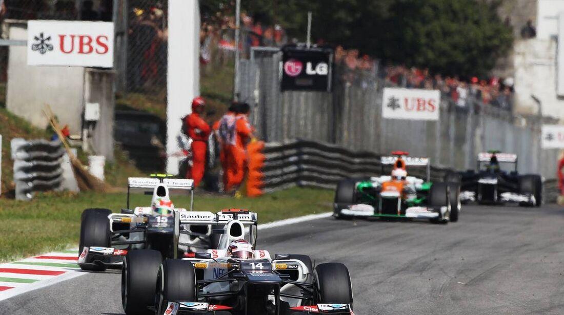 Kamui Kobayashi - Formel 1 - GP Italien - 09. September 2012