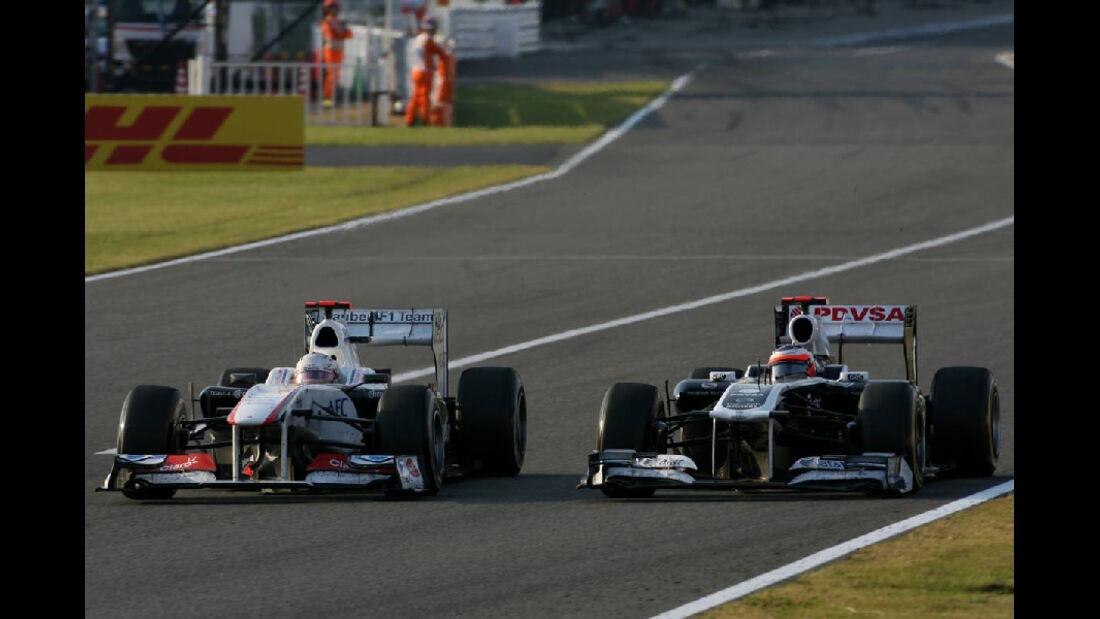 Kamui Kobayashi  - Formel 1 - GP Japan - 9. Oktober 2011