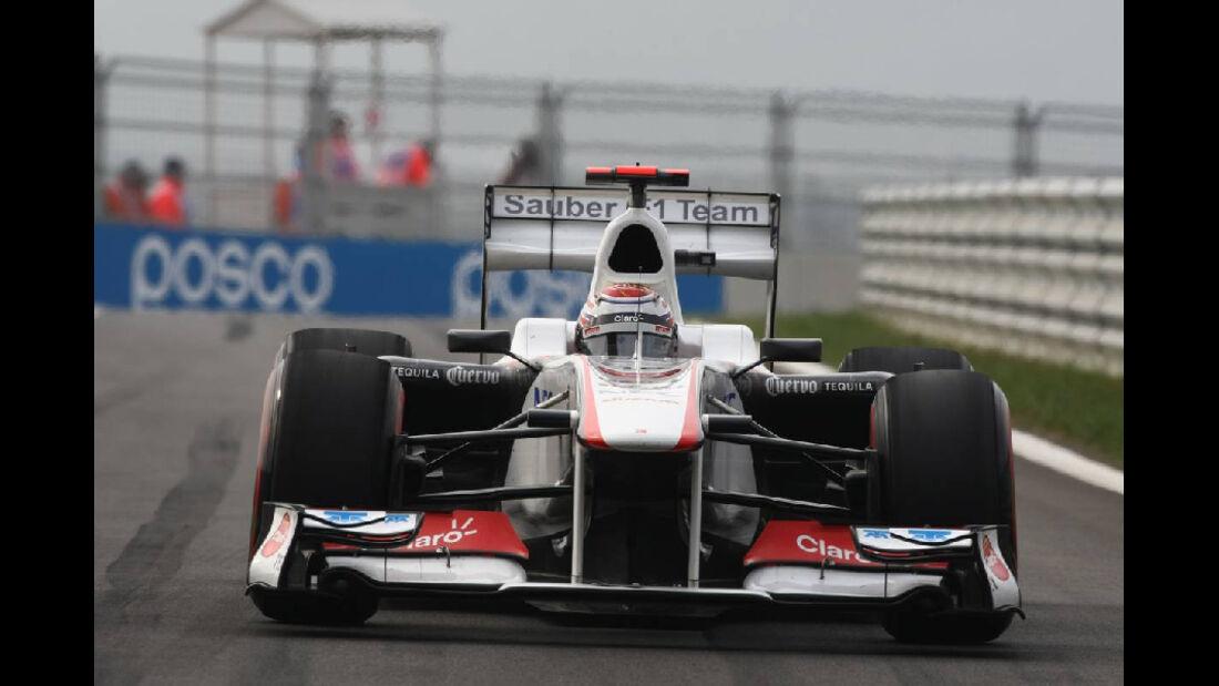Kamui Kobayashi - Formel 1 - GP Korea - 15. Oktober 2011