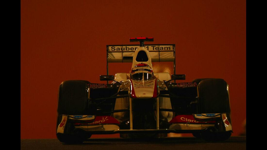 Kamui Kobayashi - GP Abu Dhabi - Freies Training - 11. November 2011