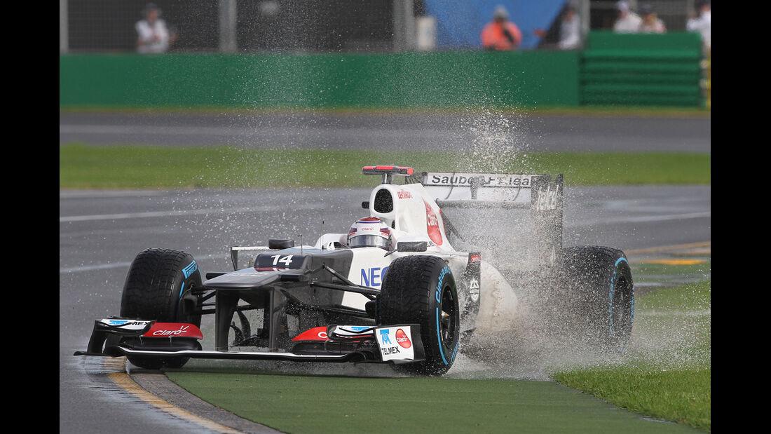 Kamui Kobayashi GP Australien 2012