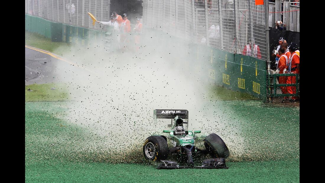 Kamui Kobayashi - GP Australien - Crashs 2014