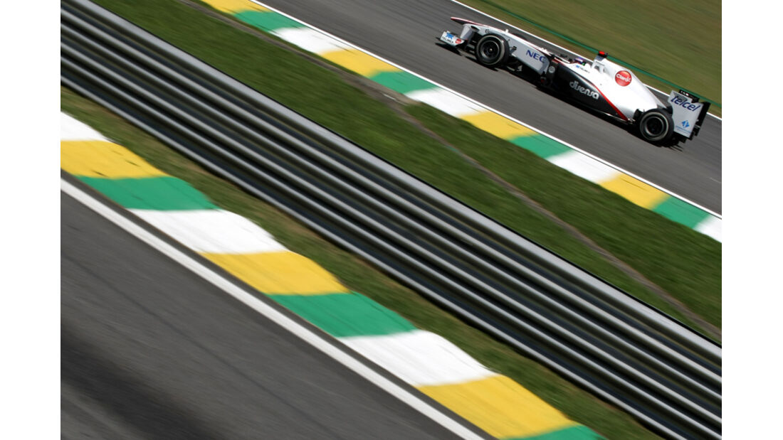 Kamui Kobayashi - GP Brasilien - 25. November 2011