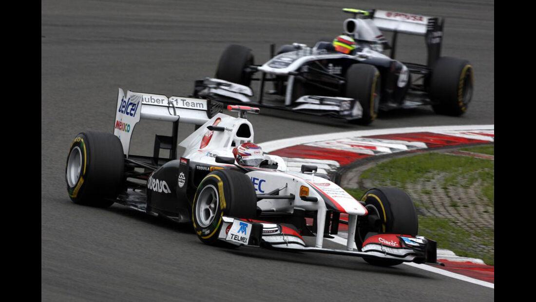 Kamui Kobayashi GP Deutschland 2011