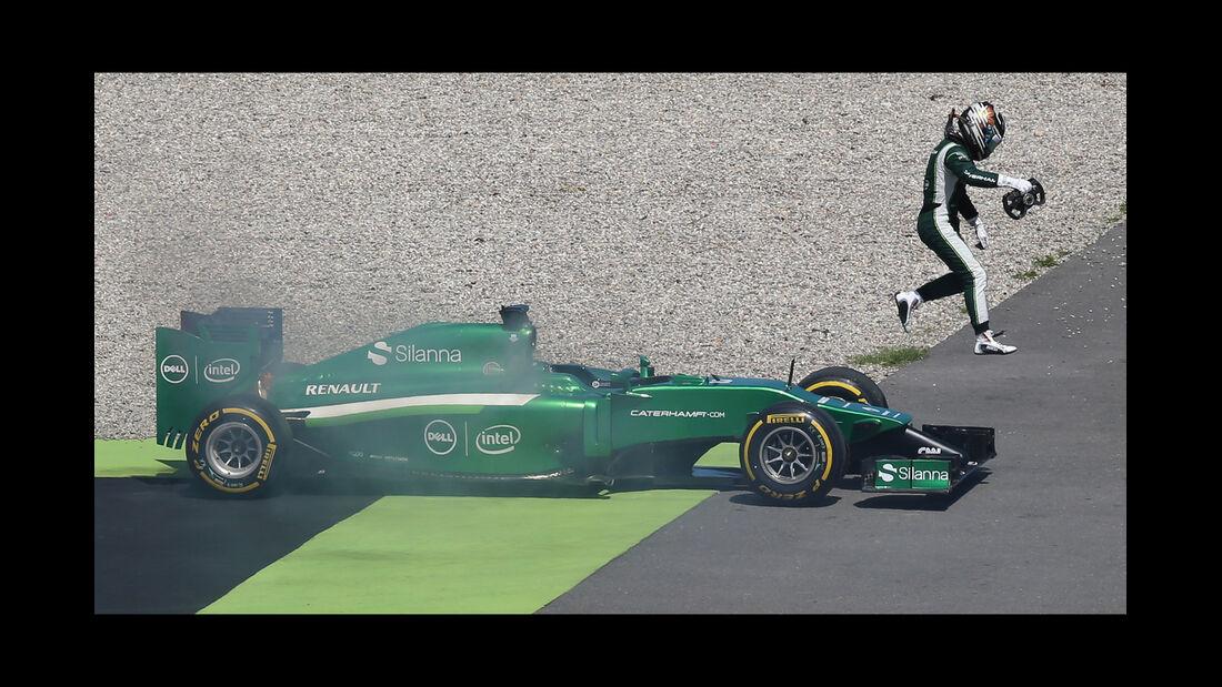 Kamui Kobayashi - GP Deutschland 2014 - Danis Bilderkiste