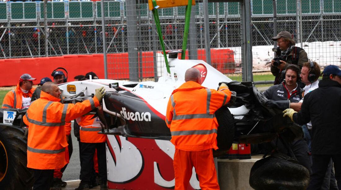 Kamui Kobayashi GP England 2011