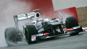Kamui Kobayashi GP England 2012