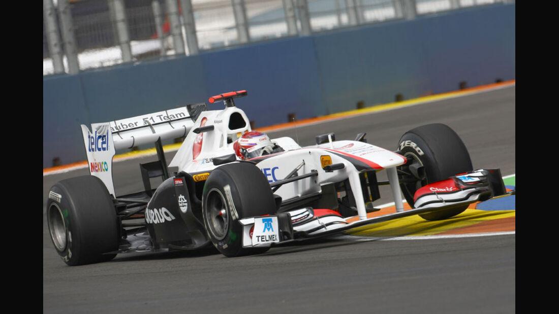 Kamui Kobayashi - GP Europa Valencia 2011